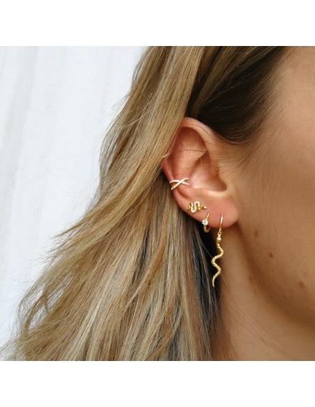 earcuff circonitas oro