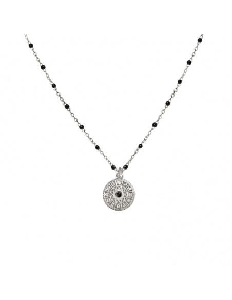 collar colgante horoscopo plata