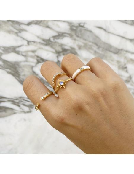 anillos oro bisuka