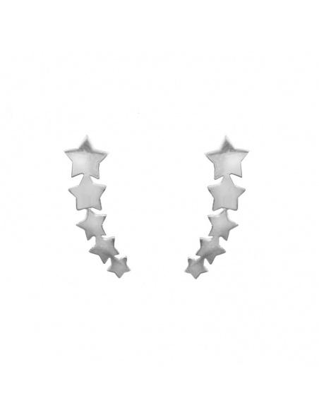 Pendientes plata Constelación